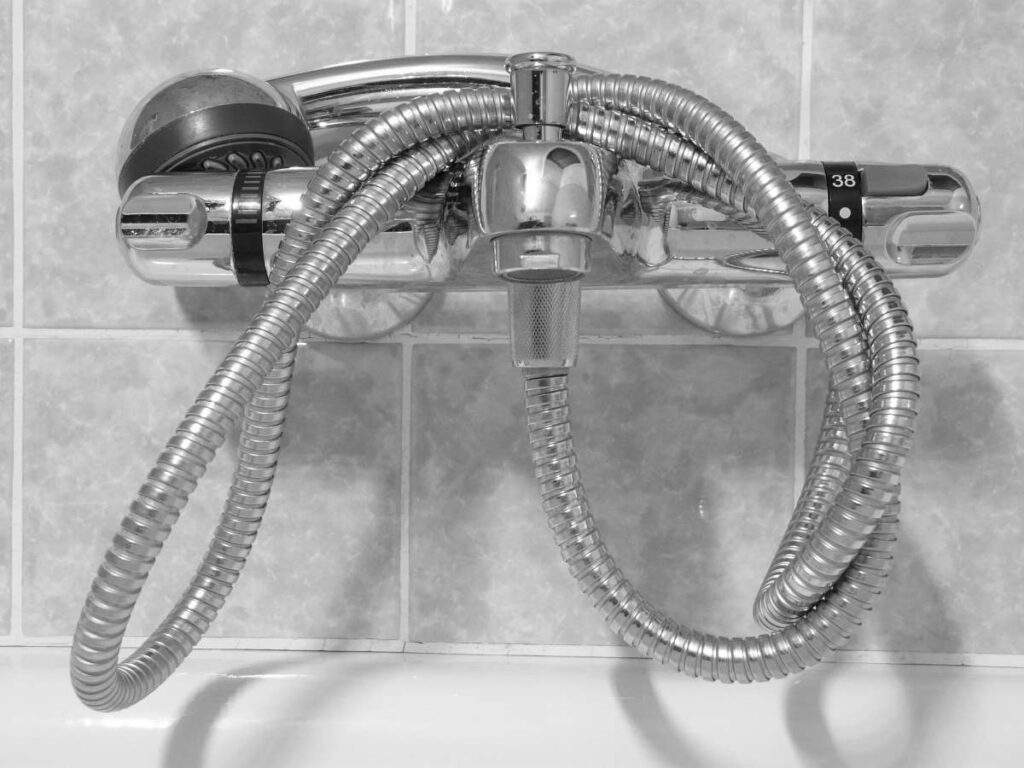 douche verstopt